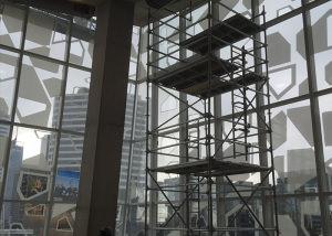 Ryerson University scaffolding