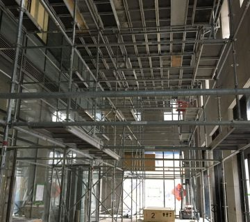 How scaffolding speeds up the construction process