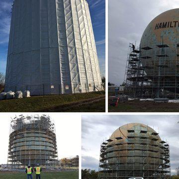 Hamilton Methane Sphere